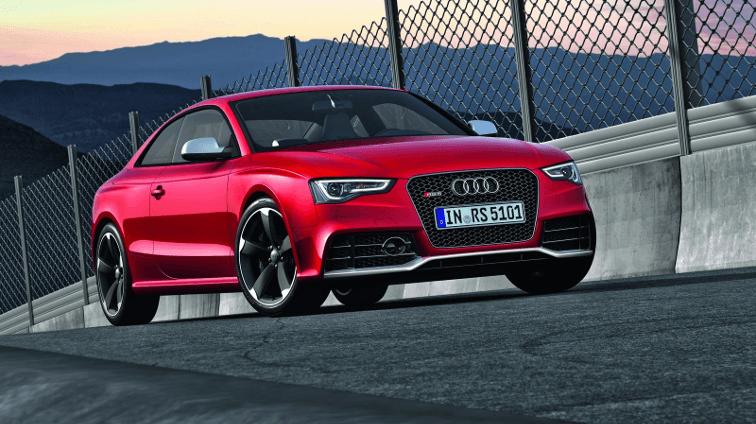 Audi RS 5 Quattro - credit topspeed.com