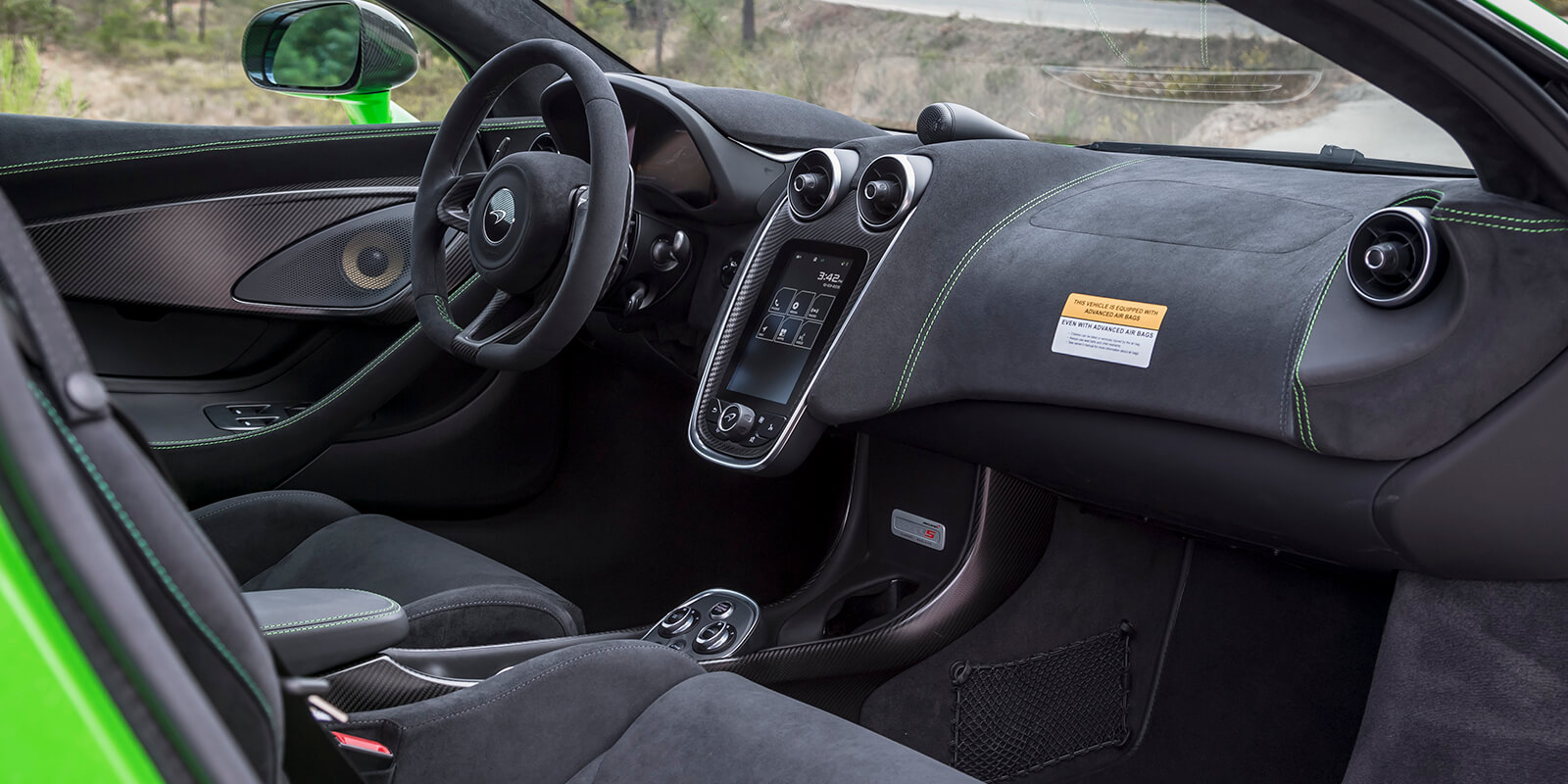 McLaren570s Alcantara Interior