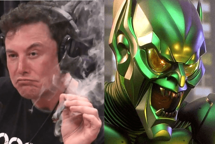 Musk's transformation credit Joe Rogan on Youtube and Sony